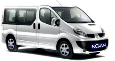 Novum Rent a Car Timișoara | Inchirieri Auto Timisoara | Preturi Inchirieri Microbuze - Renault Trafic 2014
